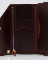 Tanner Goods | Purple Workman Wallet in Oxblood for Men | Lyst