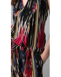 Thakoon | Multicolor Ikat Print Jumpsuit. | Lyst