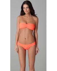 Tori Praver Swimwear - Orange Betty Bikini Top - Lyst