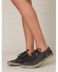 Free People - Brown Muddy Waters Sneaker - Lyst