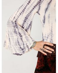 Free People | Multicolor Ashbury Bell Sleeve Tee | Lyst