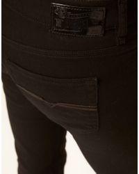 DIESEL Black Louvboot Bootcut Jeans