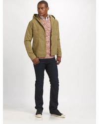 Gant Rugger - Green The Hiker Zip Jacket for Men - Lyst