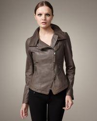 Mackage | Brown Anik Leather Jacket | Lyst