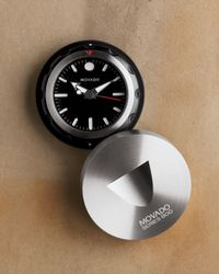 Movado | Black Travel Alarm Clock for Men | Lyst