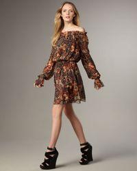 Rachel Zoe | Multicolor Frankie Peasant Dress | Lyst