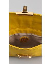 Tory Burch - Yellow Norah Envelope Bag - Lyst