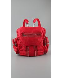 Alexander Wang | Red Marti Backpack in Persimmon | Lyst