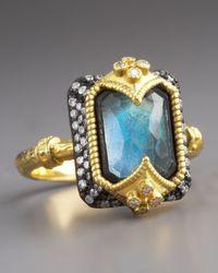 Armenta - Blue Dulcinea Labradorite Ring - Lyst