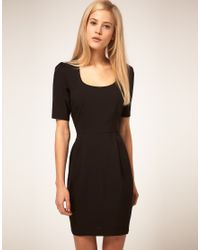 ASOS Collection Black Tulip Dress