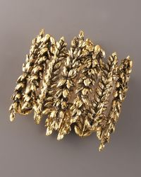 Aurelie Bidermann - Metallic Wheat Bracelet - Lyst