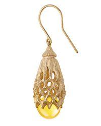 Baccarat - Metallic Merveille Wire Earrings, Gold Vermeil - Lyst