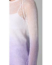 Bec & Bridge - Purple Ombre Sweater - Lyst