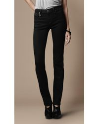 Burberry Brit | Stretfield Black Wash Jeans | Lyst