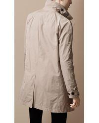 Burberry Brit - Natural Showerproof Trench Coat for Men - Lyst