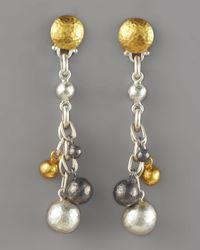 Gurhan - Multicolor Caviar Mixed Metal Earrings - Lyst