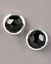 Ippolita - Sterling Silver Black Onyx Earrings - Lyst