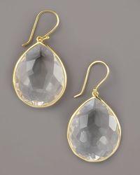 Ippolita - Metallic Teardrop Earrings - Lyst