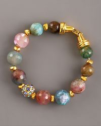 Jose & Maria Barrera - Multicolor Agate Bracelet, Large - Lyst