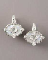Judith Ripka - White Oasis Earrings - Lyst