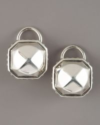 Lagos | Metallic Sterling Rocks Clip Earrings | Lyst