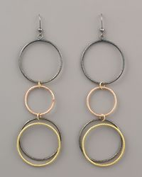 Lana Jewelry - Multicolor Double Luxe Earrings - Lyst