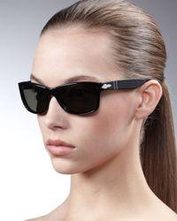 Persol | Black Modified-square Sunglasses | Lyst
