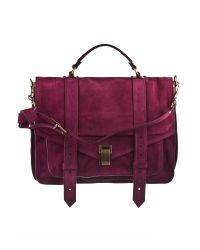 Proenza Schouler | Red Ps1 Large Leather | Lyst