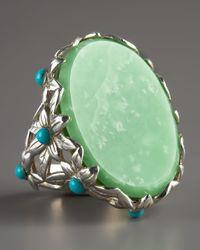 Stephen Dweck - Green Lime Jade Ring - Lyst