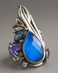 Stephen Webster - North-south Blue Agate Ring - Lyst