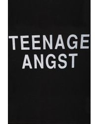 TOPSHOP Black Angst Tee By Tee and Cake