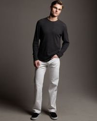 7 For All Mankind - Austyn White Organic Jeans for Men - Lyst