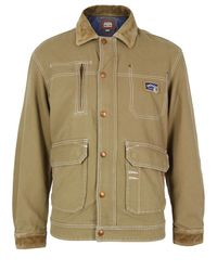 DIESEL | Natural Janiel Beige Jacket for Men | Lyst