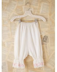 Free People | White Vintage Bloomers | Lyst