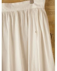 Free People | White Vintage Victorian Petticoat | Lyst
