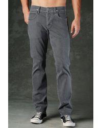 Hudson Jeans | Gray Byron Five Pocket Straight for Men | Lyst