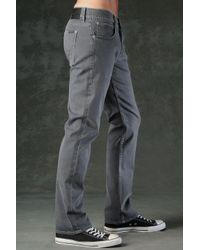 Hudson Jeans - Gray Byron Five Pocket Straight for Men - Lyst