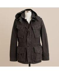 J.Crew | Black Fatigue Jacket for Men | Lyst