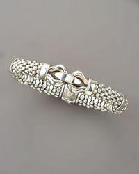 Lagos - Metallic 9mm Rope Bit Bracelet - Lyst