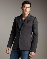 Royal Underground - Blue Two-button Blazer for Men - Lyst