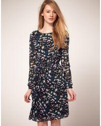 Whistles | Blue Veronica Safia Print Dress | Lyst