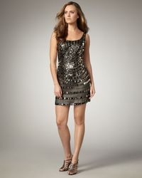 Alberto Makali | Black Mirrored Spiral Dress | Lyst
