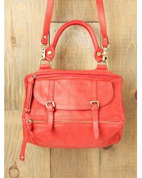 Free People | Red Raven Leather Bag | Lyst