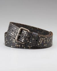 HTC Hollywood Trading Company | 10,000 Studs Belt, Black for Men | Lyst
