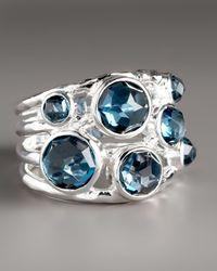 Ippolita - London Blue Topaz Ring - Lyst