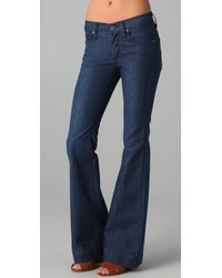 James Jeans | Blue Humphrey High Rise Flare Jeans | Lyst