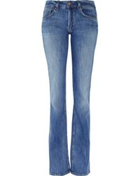 M.i.h Jeans | Blue Sugarland Midrise Bootcut Jeans | Lyst