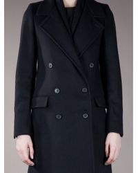 Stephan Schneider Black Long Double Breasted Coat