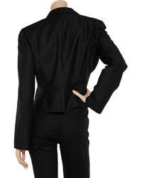 Calvin Klein - Black Petite Open-front Jacket - Lyst