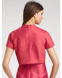 Kay Unger - Pink Bolero Jacket - Lyst